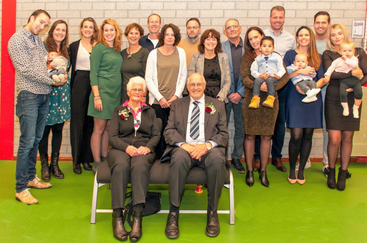 Familie Tjepkema 60 jaar getrouwd