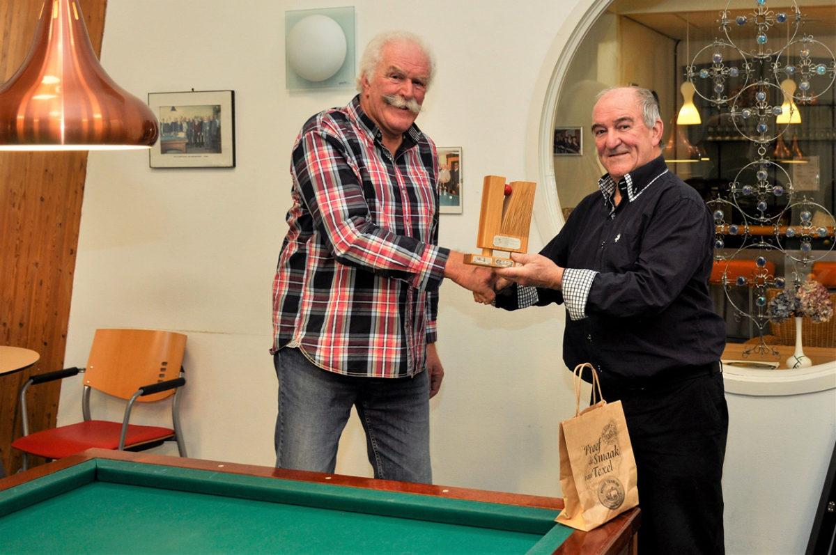 Bert Liefting winnaar van Jaap Koomentrofee.